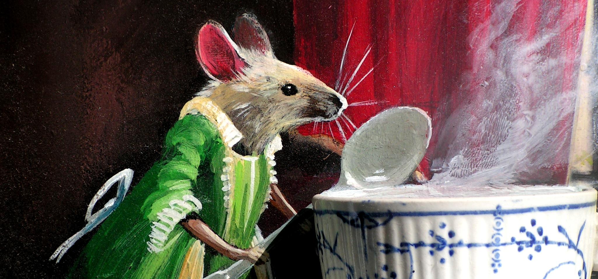 Mes Peintures-objets animalières...
